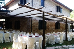 sala esterna nozze
