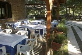 sala ristorante esterna